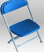 Folding chair for kids rental