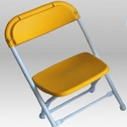Folding chair for kids rental