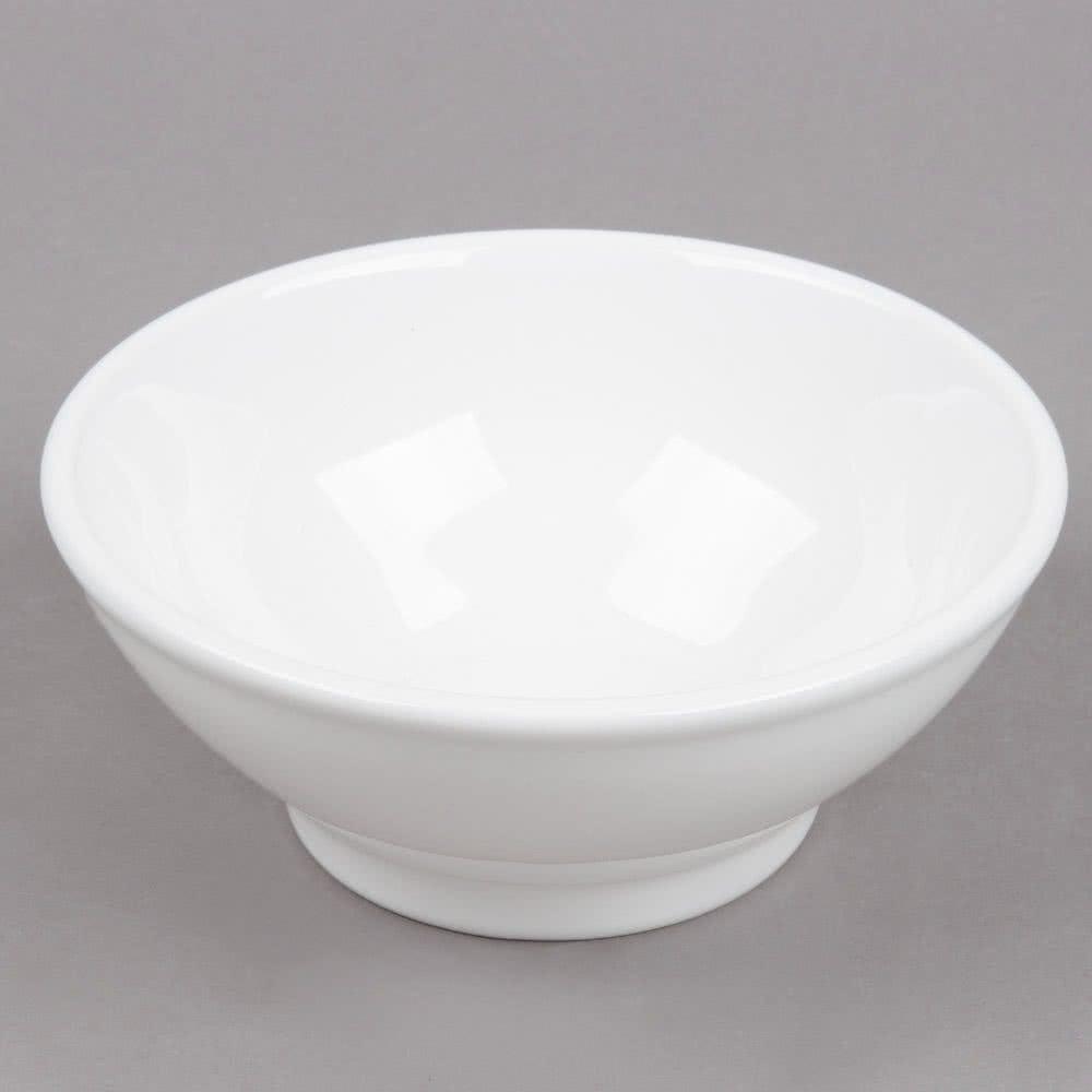 6 3-4 white menudo salad bowl 25oz