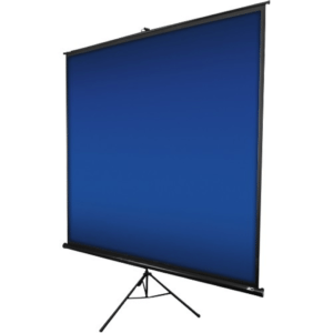 "Projector Screen -113"" Diagonal Elite Tripod Screen 80""H x 80""W"