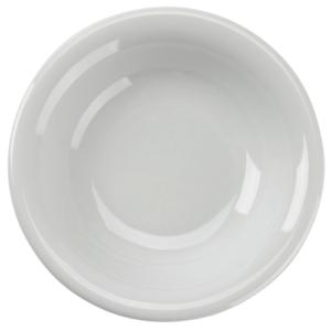 White fruit dish