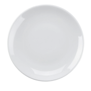 "6 1/2"" white plate"