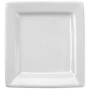 10 1/8 white square plate