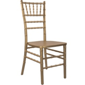 Chiavari Chair Gold (no cushion)- Special Event Seating