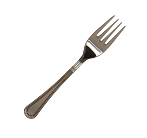 Stainless steel salad fork