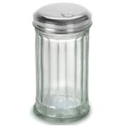 Sugar shaker, glass jar Stainless steel