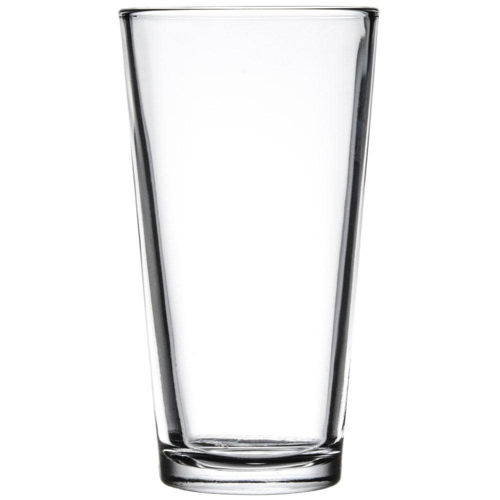 mixing glass 16oz