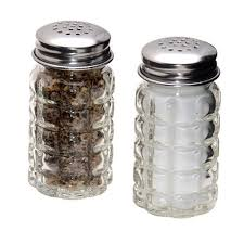 shakers salt and papper