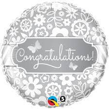 congratulations foil