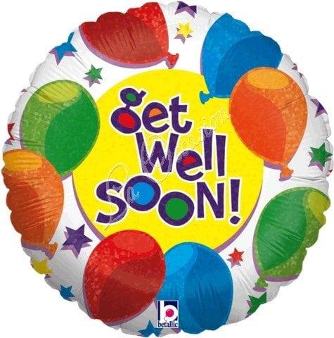 get well soon foil