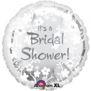 its a bridal shower foil