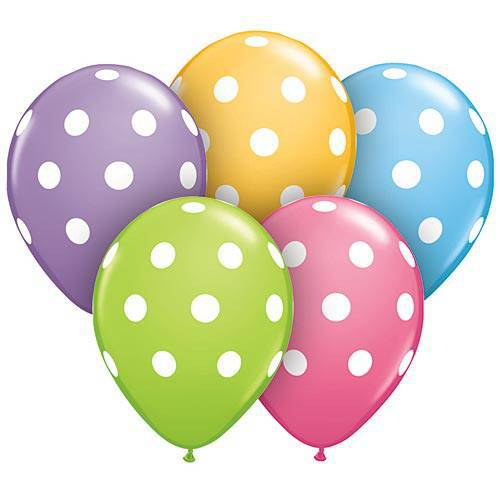big polka dots 11′ new