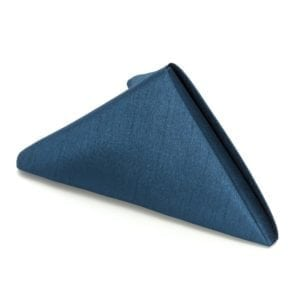 Napkins - Navy Blue 19 in. x 19 in. Poly.