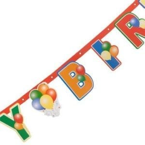 Party - Letter Banner 7ft Happy Birthday