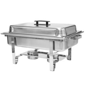 Chafer, Full Size 8 qt Welded Stainless Steel (no fuel-sterno included)