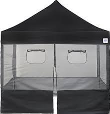 ez up food booth black