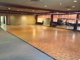teak floor trade show
