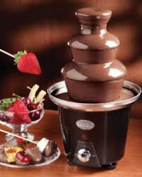 Chocolate Fountain 3-Tier for Small Parties