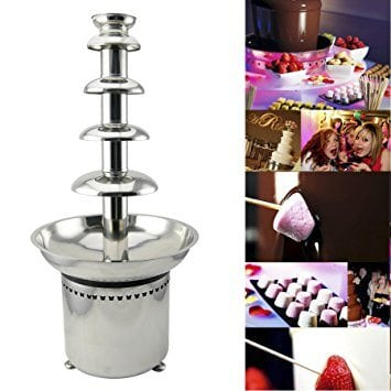 Motion 27′ 5-Tier Stainless Steel Chocolate Foundue Fountail