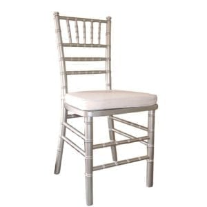 Chiavari Chair Silver with Cushion - Special Events Seating