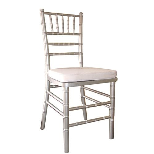 Chiavari Silver w cushion