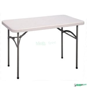 4' Rectangular Table (fits 4 - Max 6 Person)
