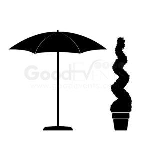 Umbrellas & Garden